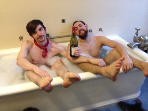 Boys in the Bath