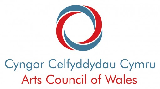 Arts Council of Wales logo portrait